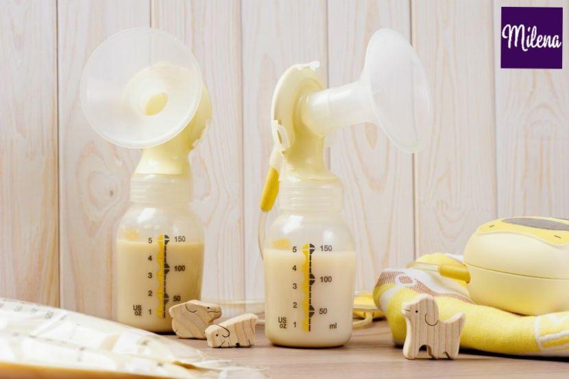 Kích sữa để có nhiều sữa cho con bú bằng máy hút sữa