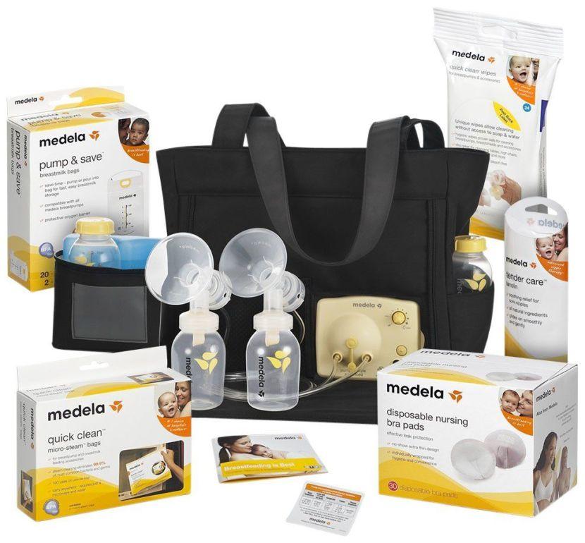 Sản phẩm máy hút sữa Medela Pump và các phụ kiện