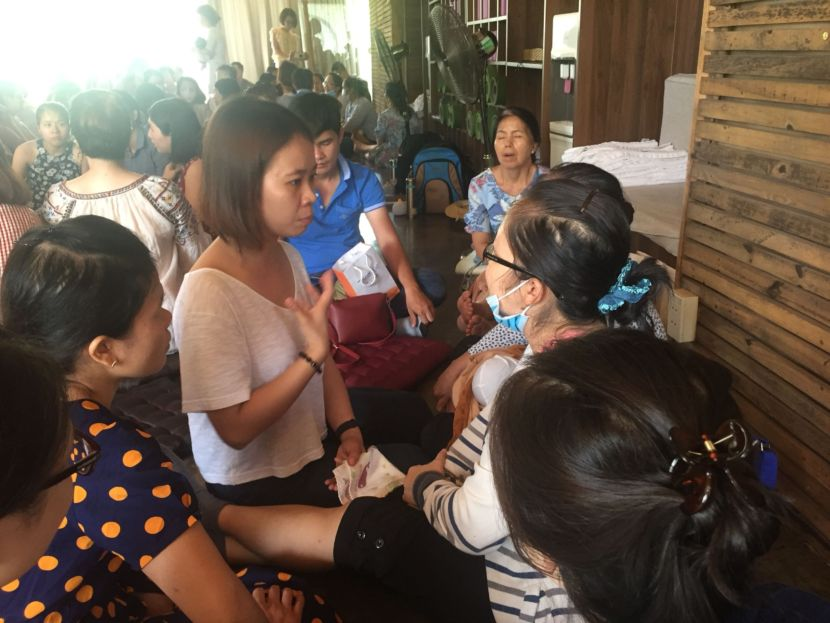 Chị Mai Milena Tham Gia Offline Tư Vấn Sữa Mẹ của Bác Sĩ Sữa Mẹ Lê Ngọc Anh Thy - 3