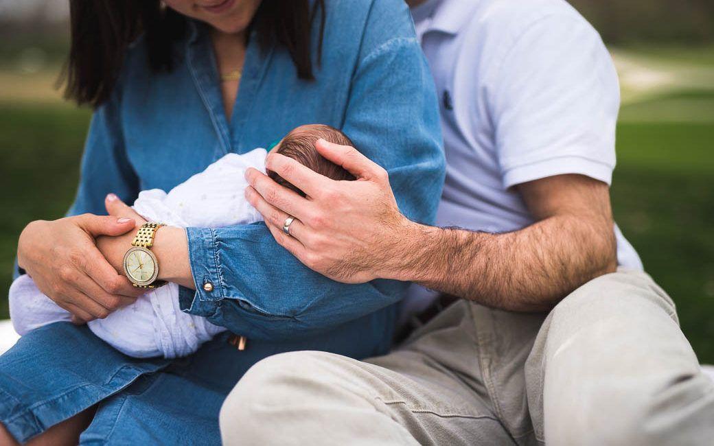 Khi nào có thể cho trẻ sơ sinh đi ra ngoài - Milena - 2
