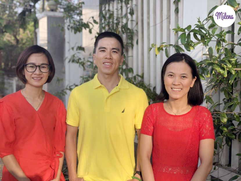Milena Founding Team