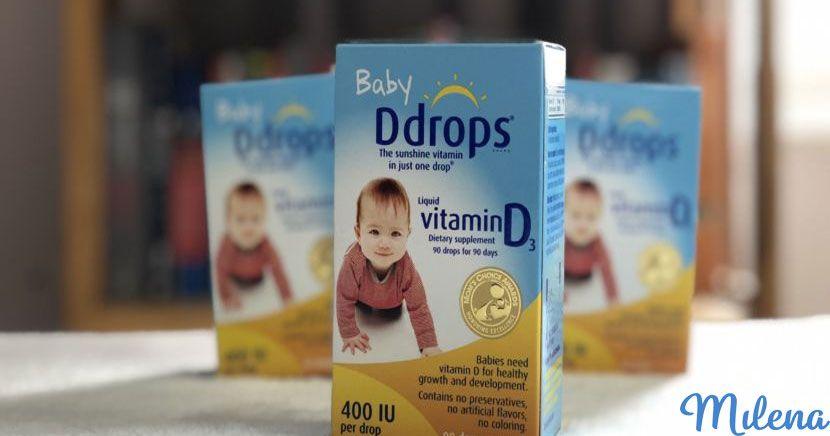 trẻ bị dị ứng uống vitamin