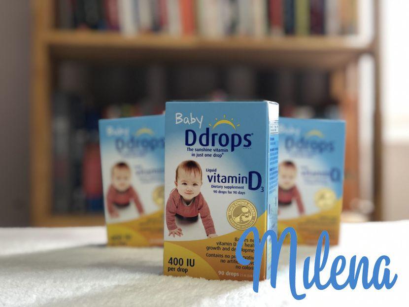 Mua Vitamin D3 Ddrops chính hãng đảo bảo an toàn cho trẻ