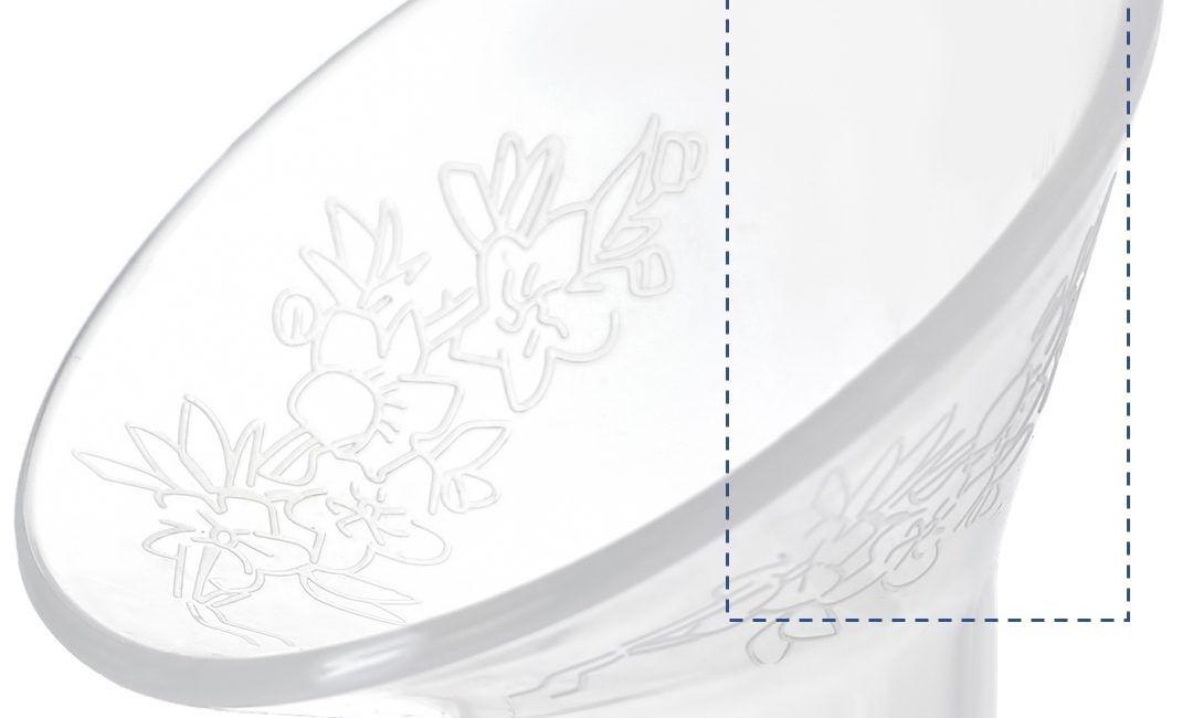 Cốc hứng sữa Nature Bond - Milena - vành hút