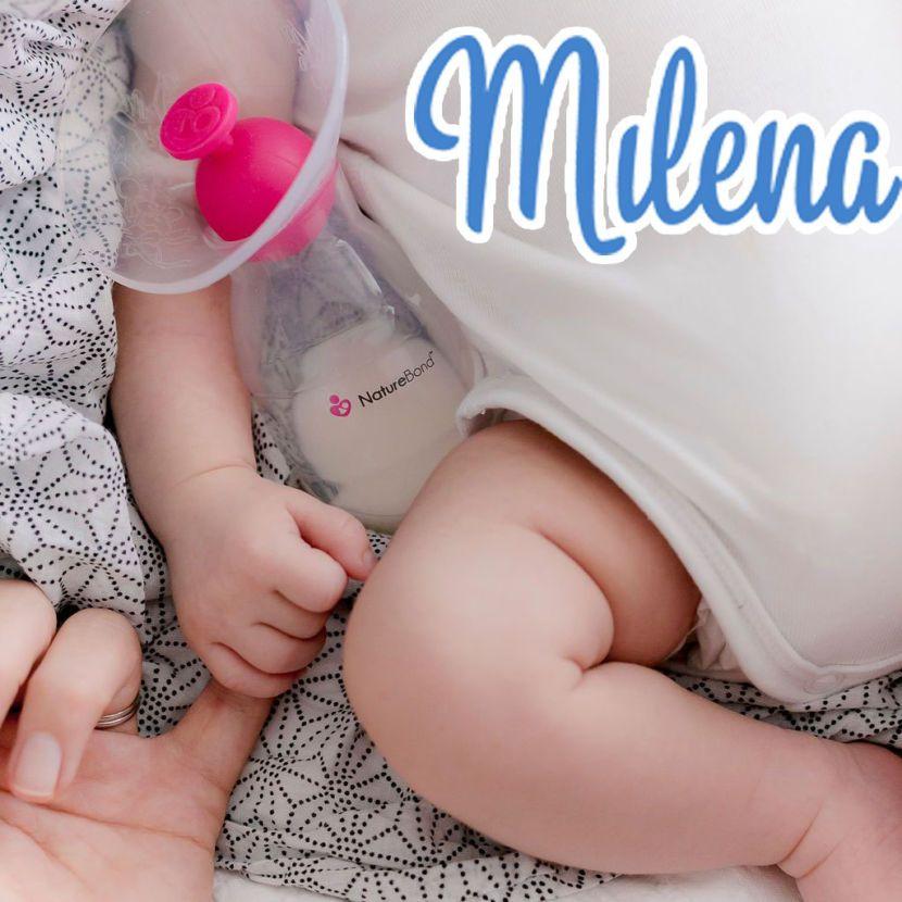30 - 60ml sữa mỗi lần khi dùng Cốc hứng sữa Nature Bond, mẹ vui không nào?
