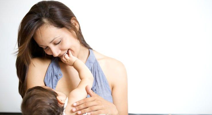 Hạnh phúc khi cho con bú giúp mẹ nhiều sữa hơn - Milena - 1