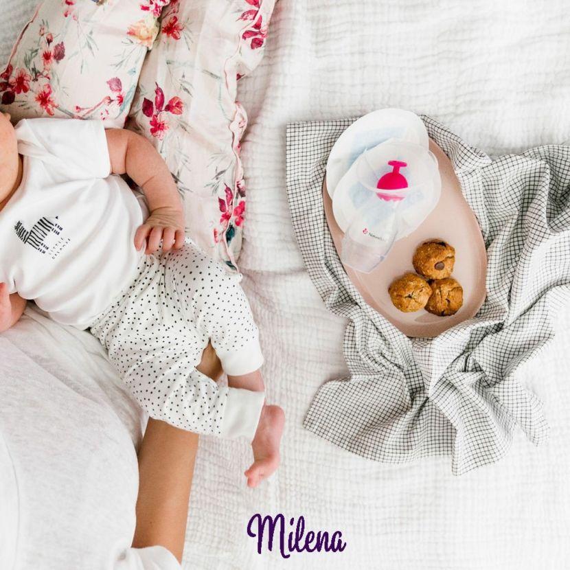 Cốc hứng sữa Nature Bond - Milena - -JinnyO_2