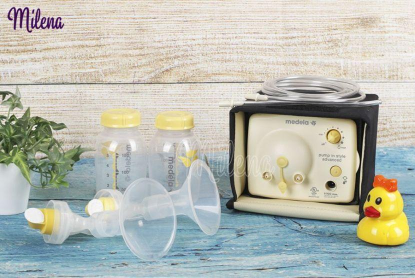 máy hút sữa giúp mẹ có núm ti dẹt, ti thụt cho con bú dễ dàng hơn