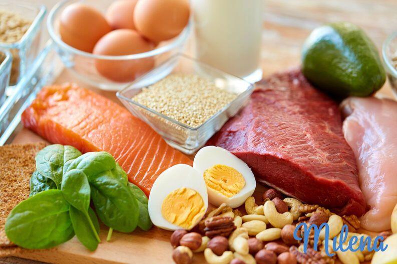 Lượng đạm cần thiết giúp mẹ đảm bảo đầy đủ chế độ dinh dưỡng