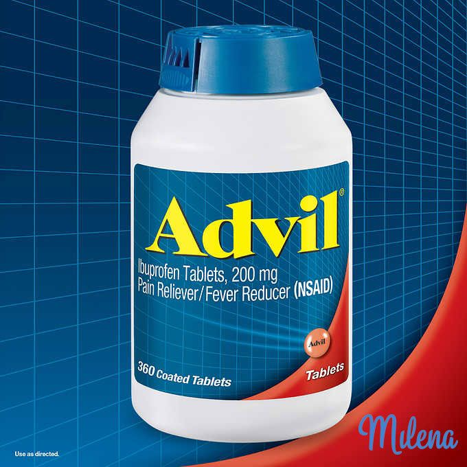 Advil - cứu tinh của mẹ