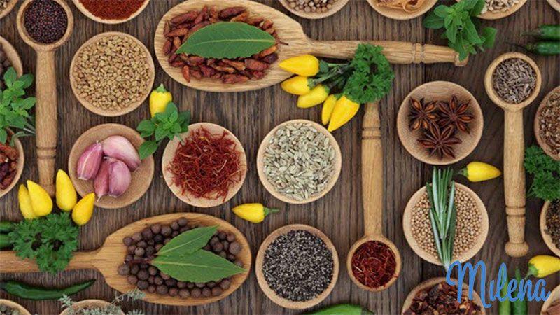 Các loại gia vị giúp các món ăn thêm đậm đà