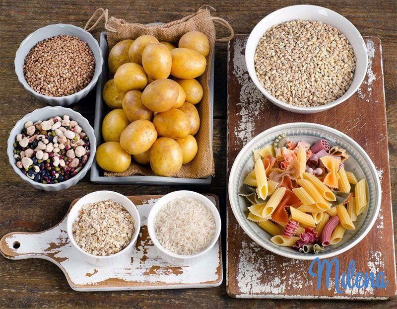 Thức ăn chứa tinh bột cao