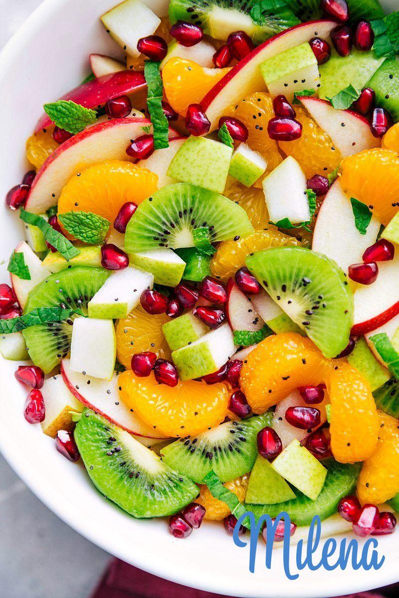 Các loại salat trộn chung với nhau