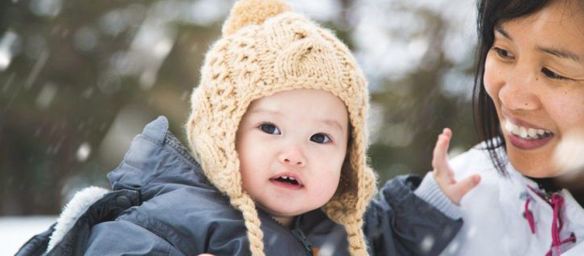 Chăm sóc trẻ vào mùa đông khoẻ mạnh
