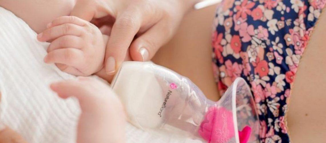 Cốc hứng sữa Nature Bond - Milena - -Pump2